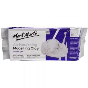 Air Hardening Modelling Clay Premium - White 500gms