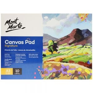 Canvas Pad Signature 10 Sheet A3 (11.7 x 16.5in)
