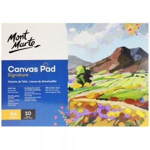 Canvas Pad Signature 10 Sheet A4 (8.3 x 11.7in)