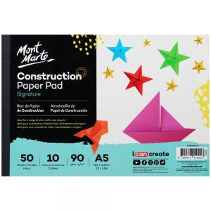 Construction Paper Signature A5 (8.3 x 5.8in) 50 Sheets