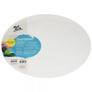 Double Thick Canvas Oval Signature 25.4 x 35.6cm (10 x 14in)