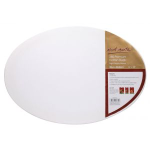 Double Thick Canvas Oval Signature 35.6 x 50.8cm (14 x 20in)