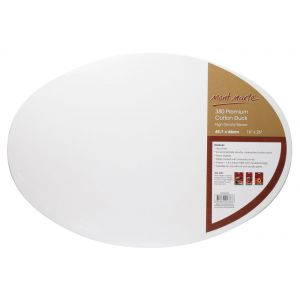 Double Thick Canvas Oval Signature 45.7 x 66.0cm (18 x 26in)