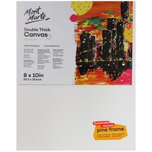 Double Thick Canvas Signature 20.3 x 25.4cm (8 x 10in)
