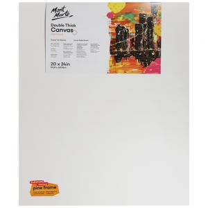 Double Thick Studio Canvas Pine Frame 50.8 x 60.9cm (20 x 24in)