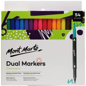 Dual Tip Markers Discovery 54pc