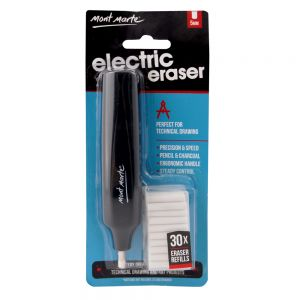 Electric Eraser with 30pce Erasers