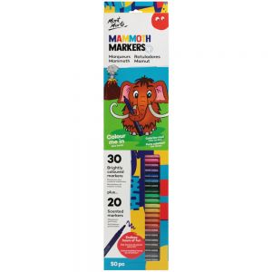 Mammoth Markers Set 50 Piece