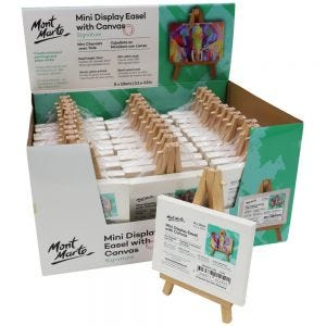 Mini Display Easel with Canvas Signature  8 x 10cm (3.1 x 3.9in)