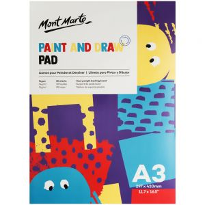 Paint & Draw Pad A3