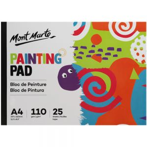 Painting Pad A4 110gsm 25 sheets