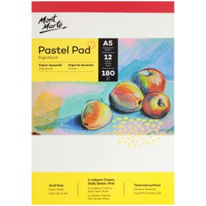 Pastel Pad 4 colours Signature 180gsm 12 Sheet A5 148 x 210mm (5.8 x 8.3in)