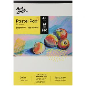 Pastel Pad 4 colours Signature 12 Sheet 180gsm A3 297 x 420mm (11.7 x 16.5in)