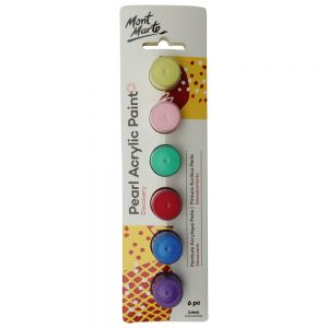 Pearl Acrylic Paints Discovery 6pc x 3.6ml (0.12)
