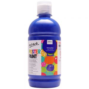 Poster Paint 500ml (16.91oz) - Phthalo Blue