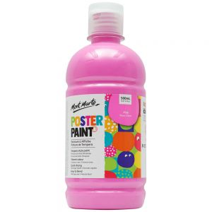 Poster Paint 500ml (16.91oz) - Pink