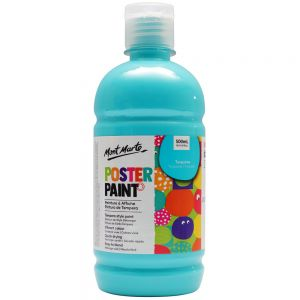 Poster Paint 500ml (16.91oz) - Turquoise
