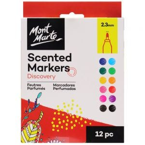 Scented Markers Discovery 2.3mm Tip 12pc