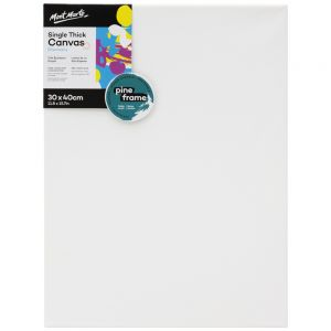 Single Thick Canvas Discovery 30 x 40cm (11.8 x 15.7in)