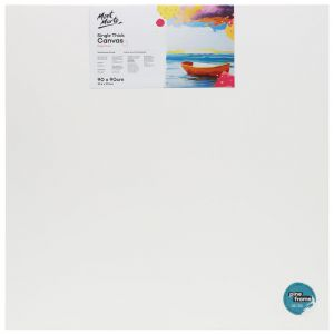 Single Thick Studio Canvas Pine Frame 90 x 90cm (35.4 x 35.4in)