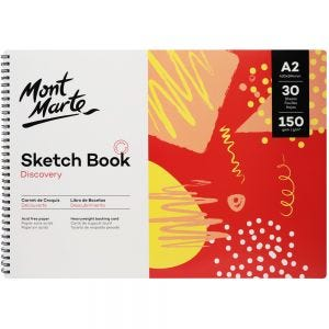 Sketch Book Discovery A2 (16.5 x 23.4in) 30 Sheets 150gsm