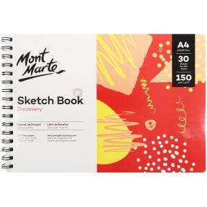 Sketch Book Discovery A4 (8.3 x 11.7in) 30 Sheets 150gsm