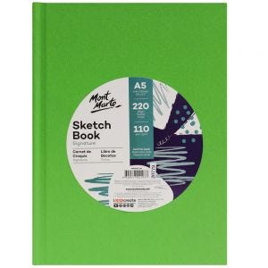 Sketch Book Hard Cover 110gsm A5 220 Page