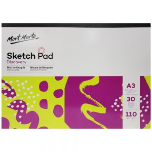 Sketch Pad Discovery A3 110gsm 30 Sheets