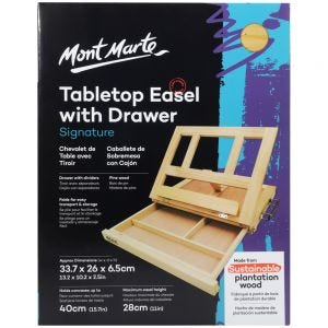 Table Easel with Drawer Signature