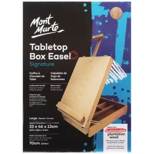 Tabletop Box Easel Signature - Large