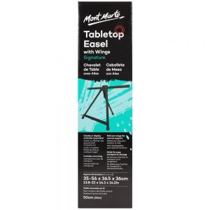 Tabletop Easel Signature with Wings