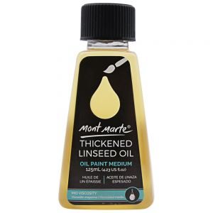 Thickened Linseed Oil 125ml