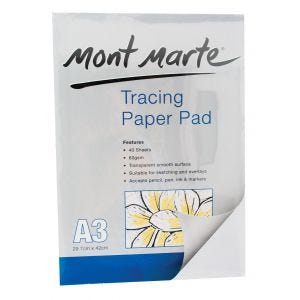 Tracing Paper Pad 60gsm A3 40 Sheet