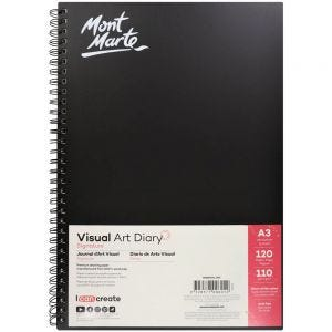 Visual Art Diary Signature 110gsm A3 120 Page
