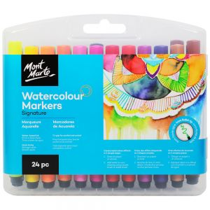 Watercolour Markers 24pc