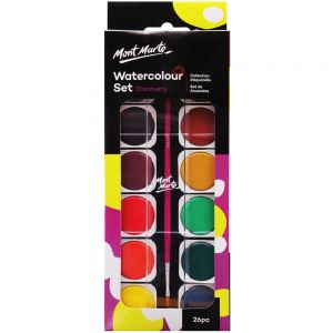 Watercolour Painting Set Discovery 26pc