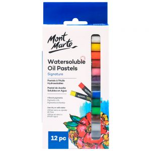 Watersoluble Oil Pastels Signature 12pc