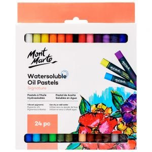 Watersoluble Oil Pastels Signature 24pc