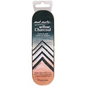 Willow Charcoal in Tin Signature 10pc